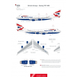 British Airways - Boeing 747-400 (Chatham Dockyard)