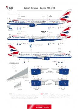 British Airways - Boeing 757-200 (Chatham Dockyard)