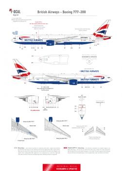British Airways - Boeing 777-200 (Chatham Dockyard)