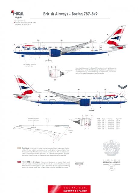 British Airways - Boeing 787
