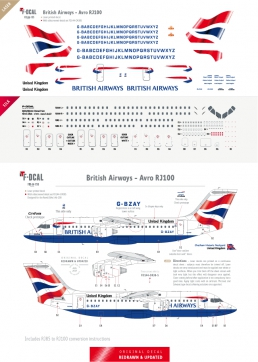 British Airways - RJ85/RJ100 (Chatham Dockyard)