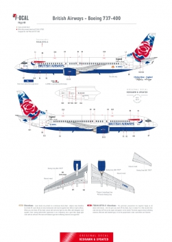 British Airways (Chelsea Rose) - Boeing 737-400