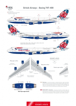 British Airways - Boeing 747-200/400 (Chelsea Rose)