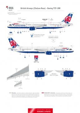 British Airways - Boeing 757-200 (Chelsea Rose)