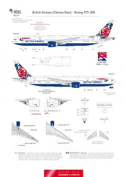 British Airways - Boeing 777-200 (Chelsea Rose)