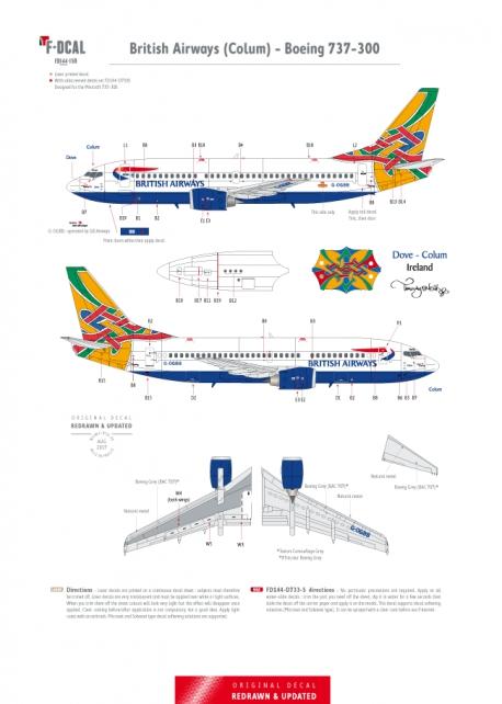 British Airways (Colum) - Boeing 737-300