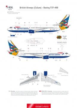 British Airways (Colum) - Boeing 737-400