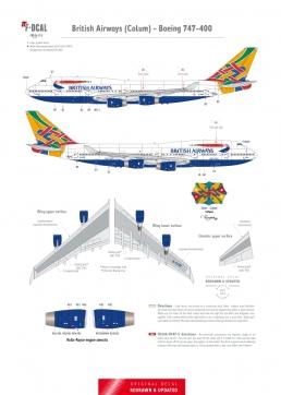 British Airways - Boeing 747-400 (Colum)