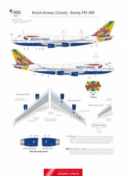 British Airways - Boeing 747-400 (Colum)