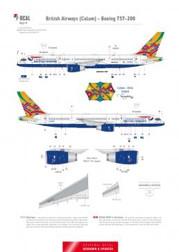 British Airways - Boeing 757-200 (Colum)