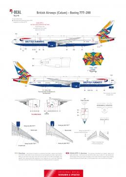 British Airways - Boeing 777-200 (Colum)