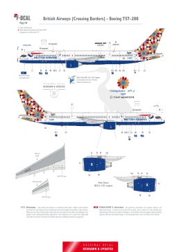 British Airways - Boeing 757-200 (Crossing Borders)