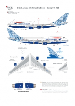 British Airways - Boeing 747-400 (Delftblue Daybreak)