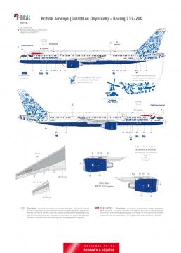 British Airways - Boeing 757-200 (Delftblue Daybreak)