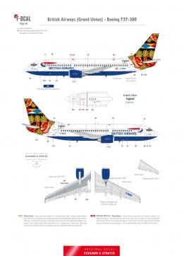 British Airways (Grand Union) - Boeing 737-300