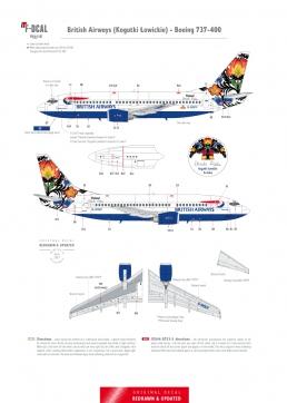 British Airways (Cogutki Lowickie) - Boeing 737-400
