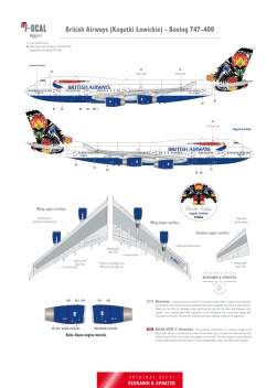 British Airways - Boeing 747-400 (Kogutki Lowickie)