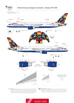 British Airways - Boeing 757-200 (Kogutki Lowickie)