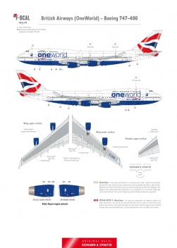British Airways - Boeing 747-400 (Oneworld)