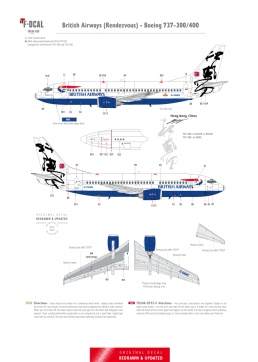 British Airways (Rendezvous) - Boeing 737-300/400