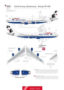 British Airways - Boeing 747-400 (Rendezvous)