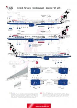 British Airways - Boeing 757-200 (Rendezvous)