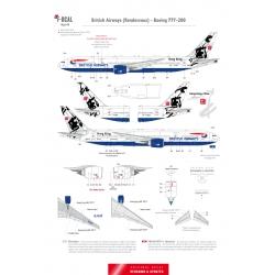 British Airways - Boeing 777-200 (Rendezvous)