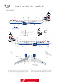 British Airways (Whale Rider) - Boeing 737-300
