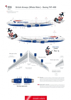 British Airways - Boeing 747-400 (Whale Rider)