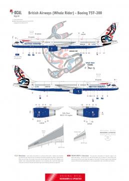 British Airways - Boeing 757-200 (Whale Rider)