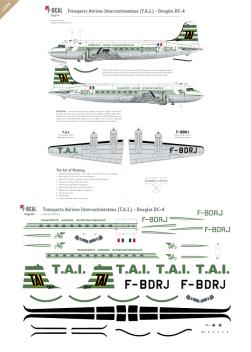 T.A.I. - Douglas DC-4