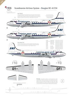 SAS - Douglas DC-4