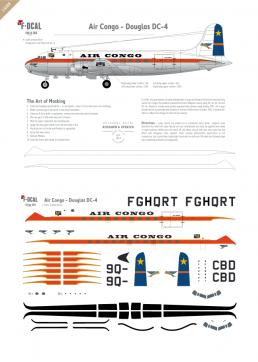 Air Congo - Douglas DC-4