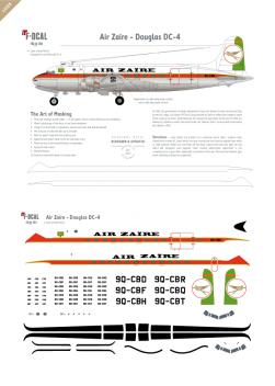 Air Zaire - Douglas DC-4
