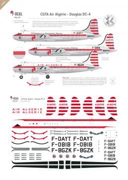 Air Algerie (CGTA) - Douglas DC-4
