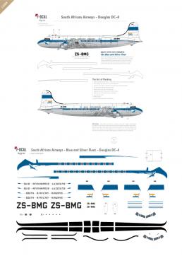 South African Airways - Douglas DC-4