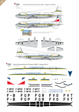 UAT Aéromaritime - Douglas DC-4