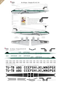 Air Afrique - Douglas DC-4