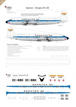 Spantax - Douglas DC-6B