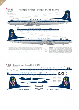 Olympic Airways - Douglas DC-6B