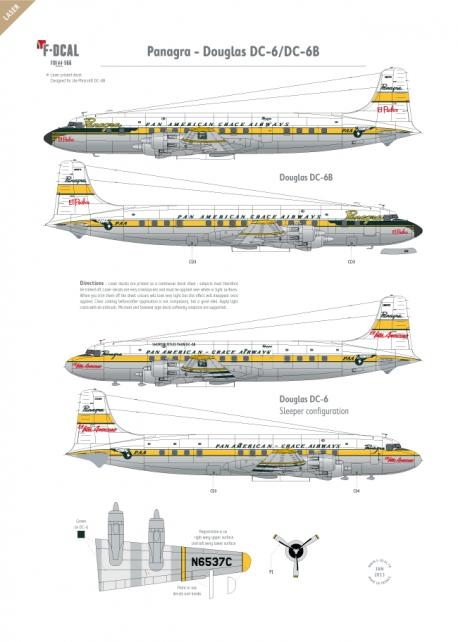 Panagra - Douglas DC-6/DC-6B