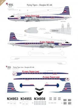 Flying Tigers - Douglas DC-6A