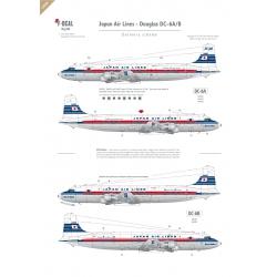 JAL (delivery scheme) - Douglas DC-6A/B