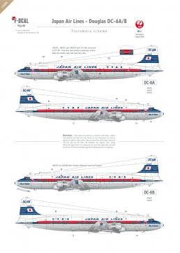 JAL - Douglas DC-6A/B