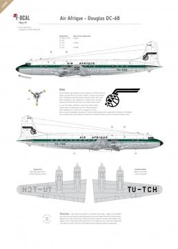 Air Afrique - Douglas DC-6B