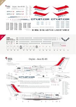 CityJet - RJ85
