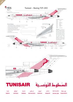 Tunisair - Boeing 727-200