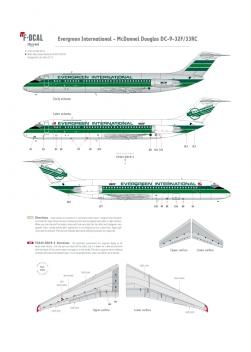 Evergreen International - Douglas DC-9-32/33F