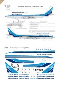 Aerolineas Argentinas - Boeing 707-320
