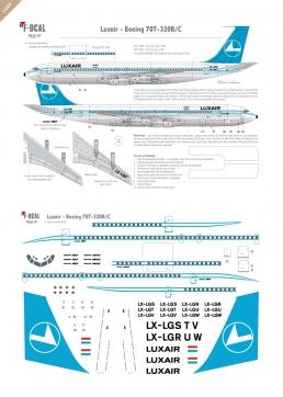 Luxair - Boeing 707-320
